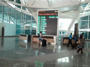 空港内インフォーメーション