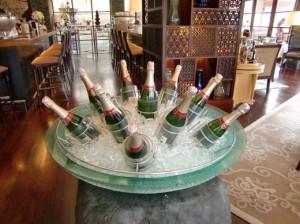 シャンパンもある