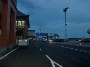 ターミナルへの移動