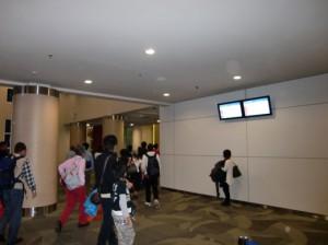 新ターミナルの入り口