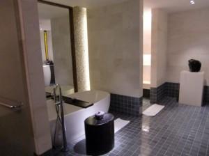 プレミアスイートのバスルーム