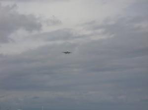 バリトール上空