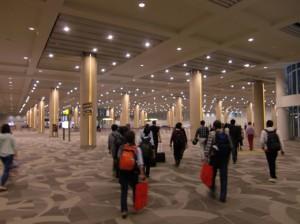 新ターミナル内
