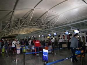 アシアナ航空チェックインカウンター