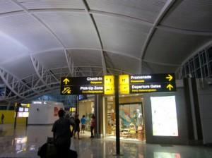 ターミナル入り口付近のショップ1