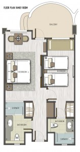 FLOOR PLAN FAMILY ROOM