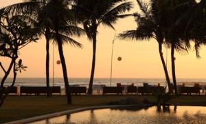 beachfront twilight