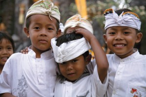 Children in Balinese Attire 1
