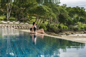 Sundara Couple Poolside Far View C