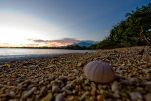 Menjanaga Sentigi beach