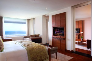 1 Ocean Front Samabe Suite King Bed Room