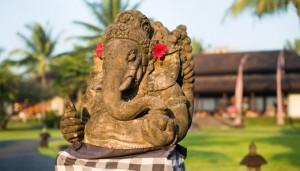 Outdoor-Entrance Elephant Statue
