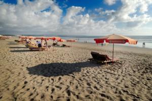 マンディラ前のビーチ